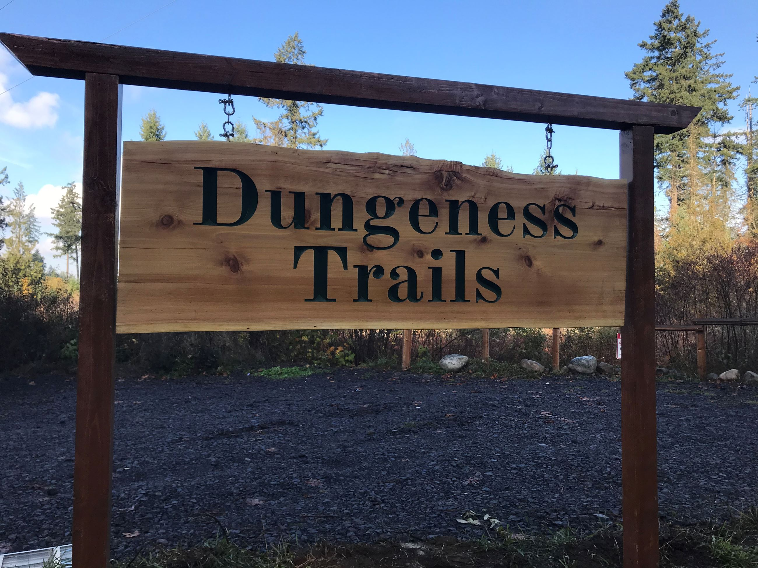 Dungeness Trails trailhead parking